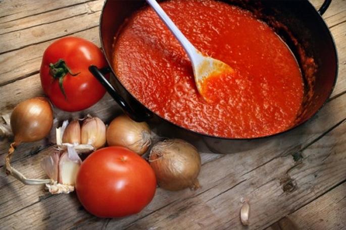 Как сделать из помидора соус