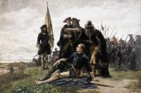 «Карл XII и гетман Мазепа после Полтавской битвы», Густав Олаф Цедерстрем, 1880